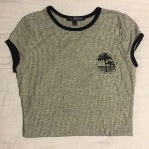 california t-shirt bodysuit